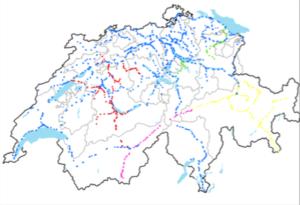 Grafik: Weichenheizungen in der Schweiz